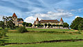 Montpeyroux, le château de Matecoulon et l'église.jpg