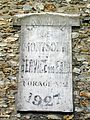 Montsoult (95), maison 26 rue des Charmilles, inscription.jpg