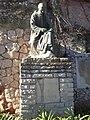 Monument a Mossèn Cinto Verdaguer a Montserrat (Catalunya) - panoramio.jpg
