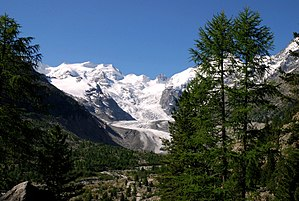 Bernina Range - Bellavista (left)