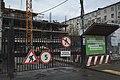Moscow, construction of Smolensky Boulevard 13 (30995878461).jpg