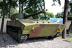 Moscow Suvorov Military School armored vehicles and tanks collection Part2 29.jpg