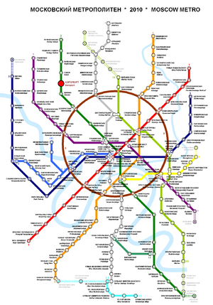 клубы москвы на карте метро