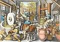 Moulin à huile Jan van der Straet et Philippe Galle vers 1600.jpg