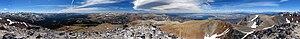 Mount Dana - Image: Mount Dana Panorama