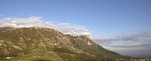 Taburno Camposauro - Image: Mount Taburnus