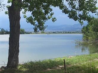 Longmont, Colorado - Reservoir west of Longmont