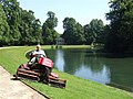 Mowing grass, Althorp - geograph.org.uk - 908602.jpg