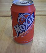A can of Moxie