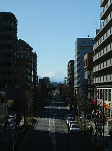 Mt Fuji from Higashikurume 2006 winter.JPG