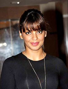 Mugdha Godse at Aanchal Kumar's wedding bash.jpg