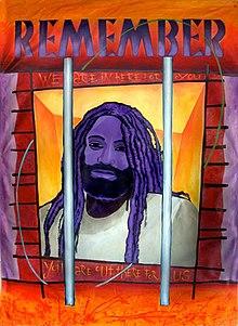 Mumia by Mike Alewitz., From WikimediaPhotos