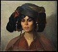 Musée du quai Branly Peintures des lointains Marie Tonoir Tête de femme de Biskra 03012019 6342.jpg