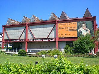 Centro per l'arte contemporanea Luigi Pecci - Museum main entrance