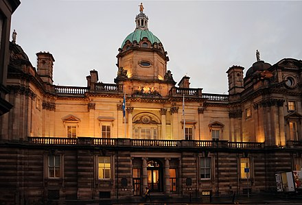 The Bank of Scotland has its headquarters in Edinburgh and is one of the oldest operating banks in the world.