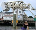 Mystic River Bascule Bridge in Mystic, Connecticut.JPG