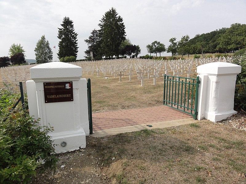 Nécropole nationale Vadelaincourt