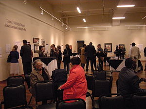 """Northwest African American Museum - Opening of exhibit """"Tacoma's Civil Rights Struggle: African Americans Leading the Way (February 4, 2009)."""