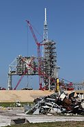 NASA LC39B deconstruction
