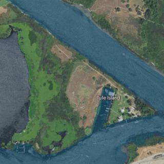 Tule Island Island in California