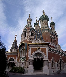 cathedral located in Alpes-Maritimes, in France
