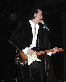Nick Cave at a solo concert in Mainz, Germany on 11 November 2006
