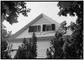 NORTH ELEVATION, DETAIL OF GABLE - Crater-Slack House, High Street, Oldwick, Hunterdon County, NJ HABS NJ,10-OLWI,5-4.tif