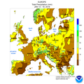 NWS-NOAA Europe Percentage of Normal Precipitation JAN 13 - 19, 2019.png