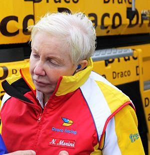 Draco Racing - Team Principal Nadia Morini in 2011