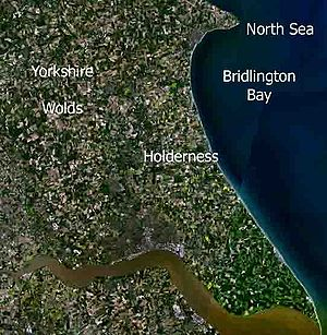 Holderness - Holderness from space.