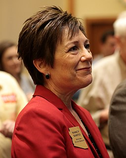 Nancy Barto American politician and a Republican member of the Arizona Senate