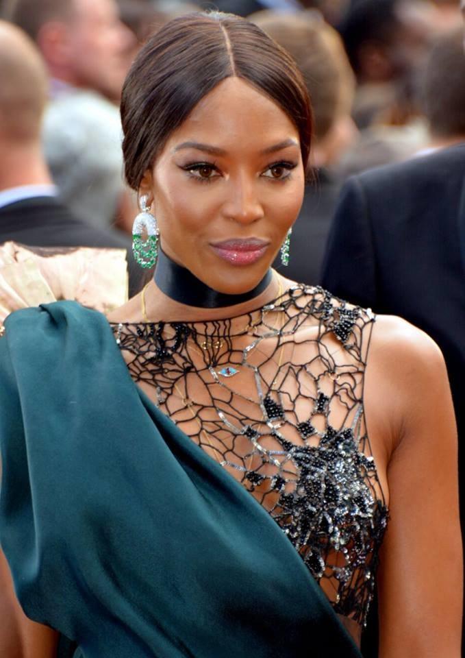 Naomi Campbell Cannes 2018