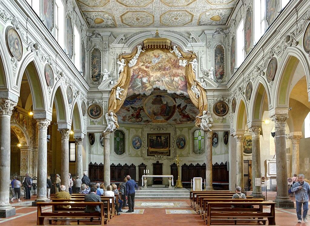 Basilique Santa Restituta à Naples attenante à la cathédrale. Photo de Berthold Werner