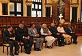 Narendra Modi in a group photograph at the Bombay High Court Museum, in Mumbai, Maharashtra. The Governor of Maharashtra, Shri C. Vidyasagar Rao, the Union Minister for Law & Justice, Shri D.V. Sadananda Gowda.jpg