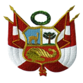 National Coat Peru Escudo Nacional text.png