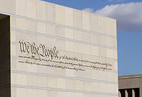 "Long, ""We the People Inscription"" at the National Constitution Center"