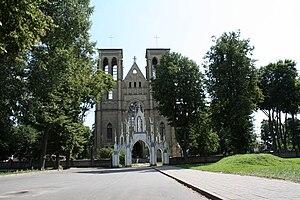 Naujamiestis, Panevėžys - Image: Naujamiescio baznycia