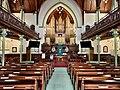 Nave, altar and organs of the Albert Street Uniting Church, Brisbane, Queensland 01.jpg