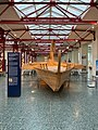 Navis actuaria Roman military ship reconstruction in the Museum of Ancient Seafaring, Mainz, Germany (48988274011).jpg