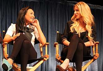 Brittany Pierce - The relationship between Santana (Naya Rivera, left) and Brittany (Heather Morris, right) has been well received by critics and viewers.