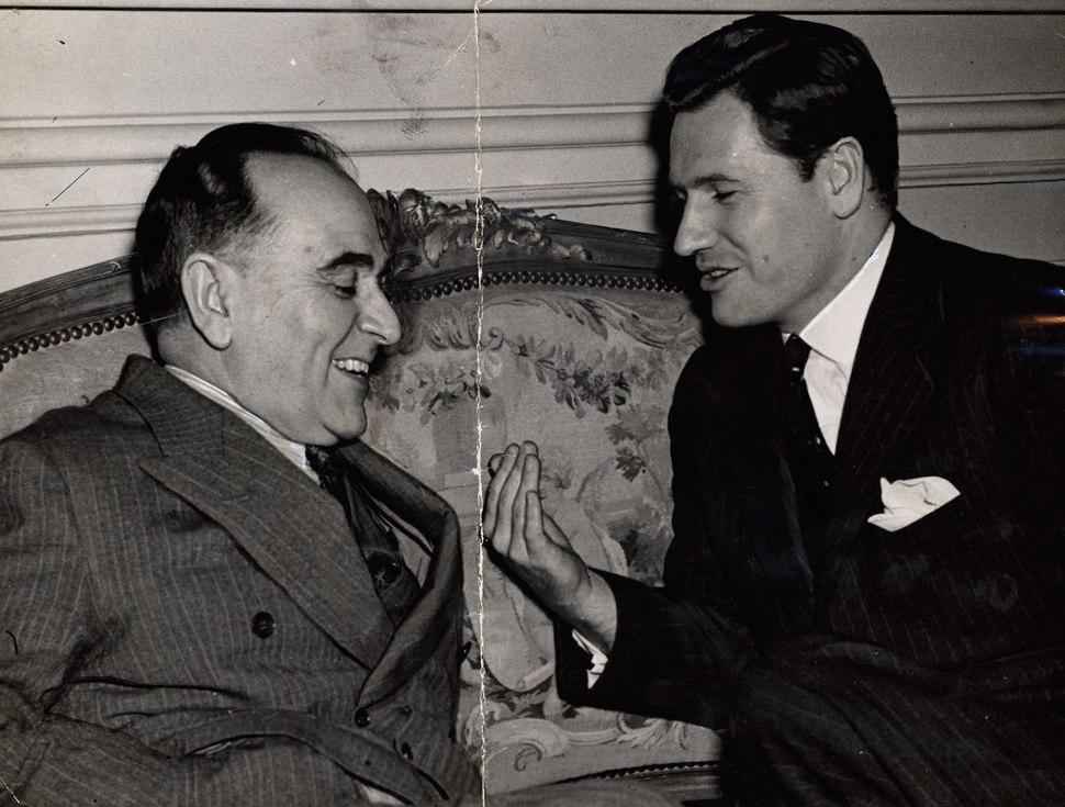 Nelson Rockefeller e Getúlio Vargas