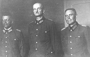 Werner von Erdmannsdorff - Image: Nemški generali ujeti med boji v Sloveniji