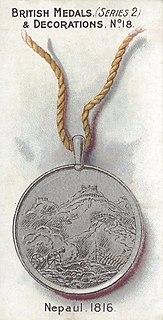 Nepal Medal