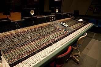 Rupert Neve - Neve VR-72 with Flying Faders