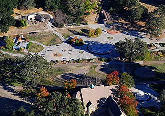 Trial of Michael Jackson - Jackson's Neverland Ranch in 2008, the site of the alleged sexual abuse