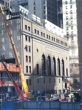 American Stock Exchange Building - Greenwich Street building