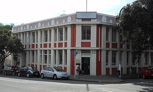 NZI - The former New Zealand Insurance Building in Napier, now the home of the Art Deco Trust