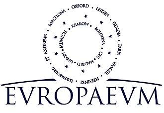 Europaeum - Image: New logo Aug 2018 WB