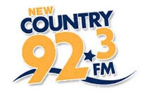 CFRK-FM - Image: Newcountry 923logo