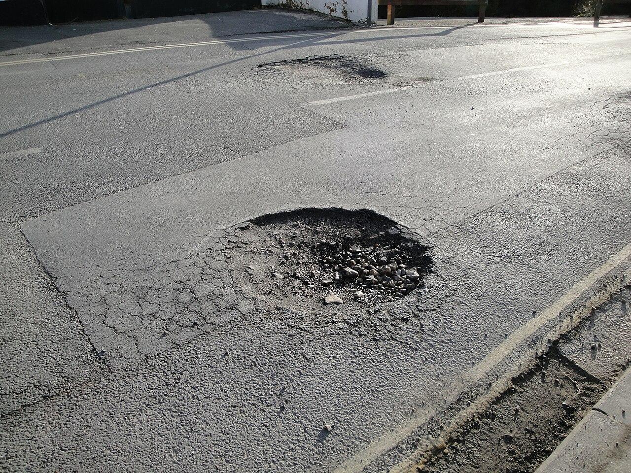 Pothole progress – Off the Kuff